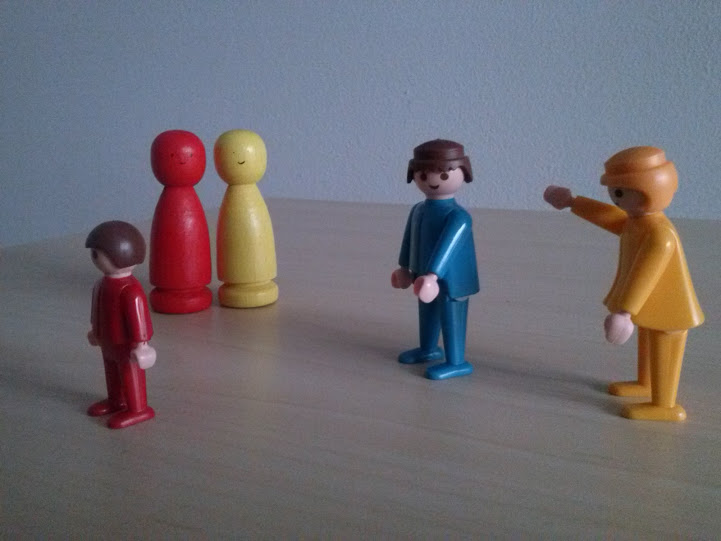 Aufstellungen mit Figuren